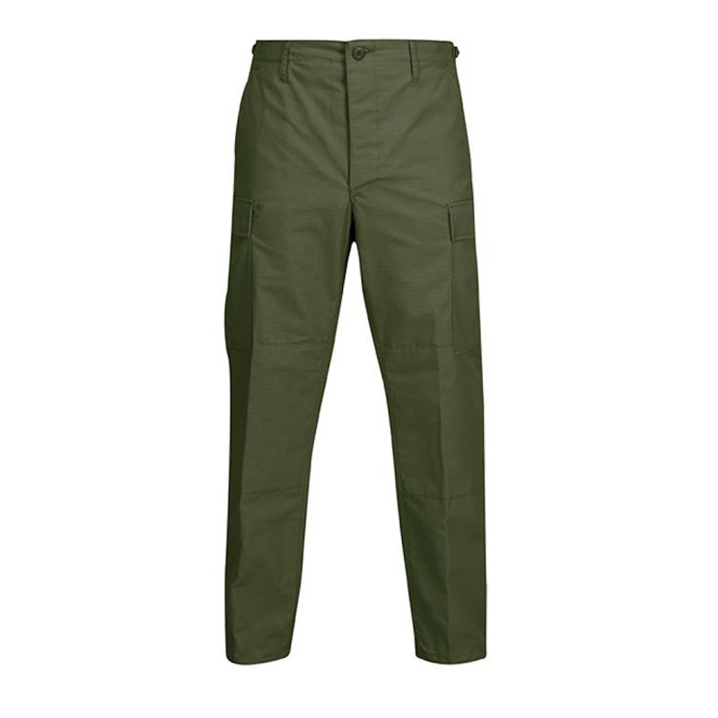 Pantalon Tactico Color Verde